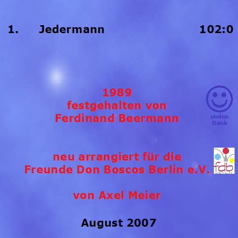 Jedermann - Back