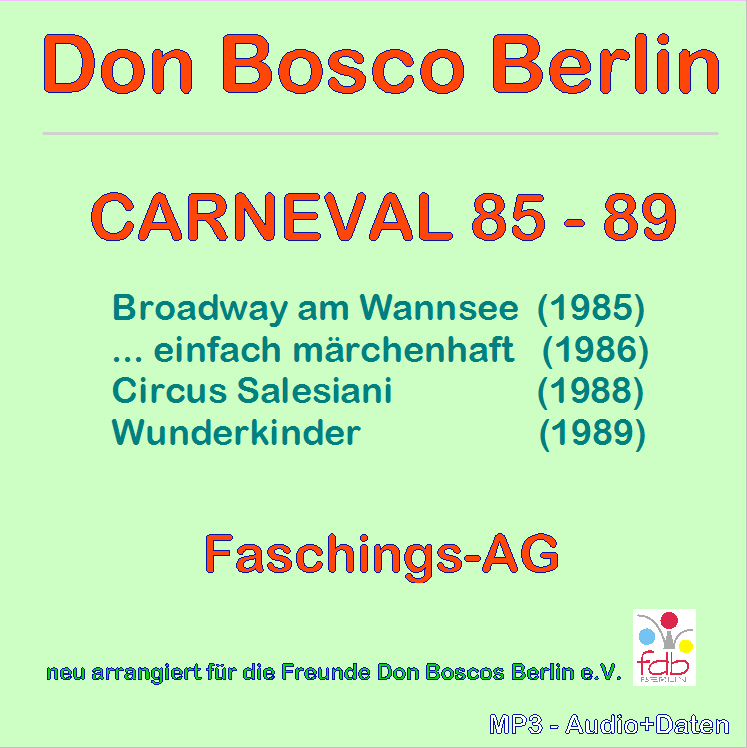 Carneval 85-89 - Front